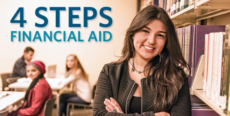 Financial Aid 4 Steps