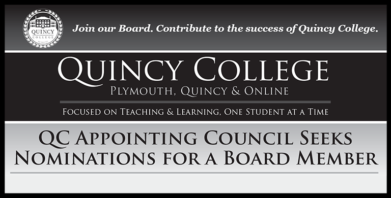 Quincy College Join Our Board. Contribute to the Success of Quincy College