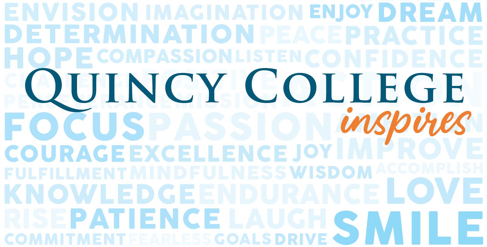 Quincy College inspires