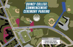 Commencement Parking Map Thumbnail