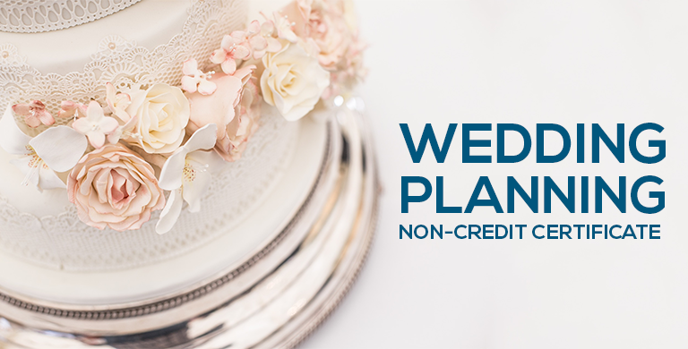 Quincy College Wedding Planning Non-Credit Certificate Program