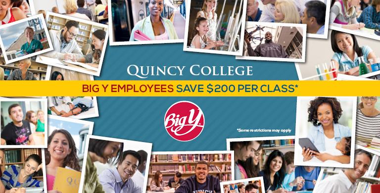 Quincy College & Big Y Partnership