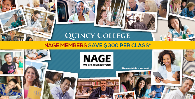 NAGE $300 dicount on courses